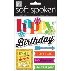 Me&My Big Ideas - Soft Spoken - Happy Birthday Bright