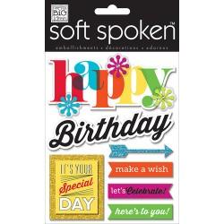 Me&My Big Ideas - Soft Spoken - Happy Birthday Bright