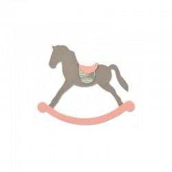 Fustella Sizzix Bigz - Cavallo a dondolo