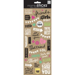 Me&My Big Ideas - Mambi Sticks - Best Friends