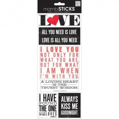 Me&My Big Ideas - Mambi Sticks - Love