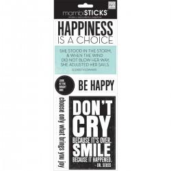 Me&My Big Ideas - Mambi Sticks - Happiness is a Choice