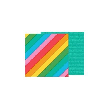 Carta Pebbles - Happy Hooray - Rainbowtastic