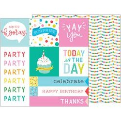 Carta Pebbles - Happy Hooray - Party Time