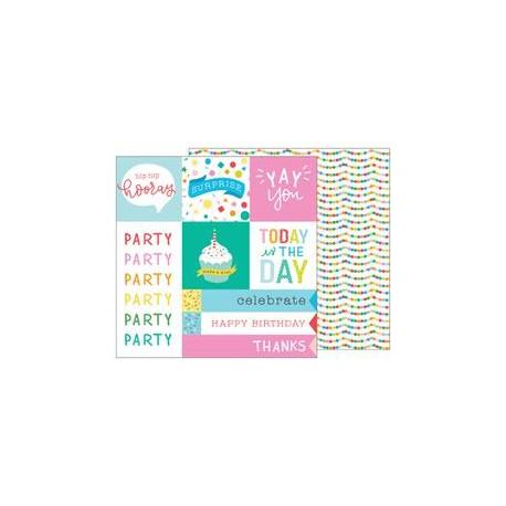 Carta Pebbles - Happy Hooray - Party Time