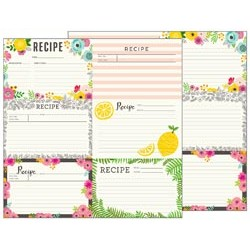 American Crafts - Jen Hadfield Patio Party - Recipe Cards
