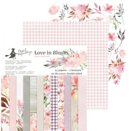 "PIATEK13 - Love in Bloom - PAPER PAD 6X6"""