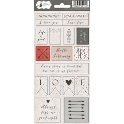 PIATEK13 - Colors of Love - Stickers 02