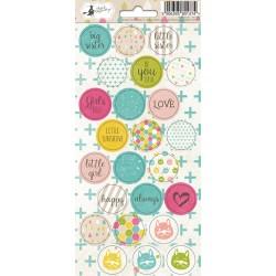 PIATEK13 - Little Girl - Stickers 03