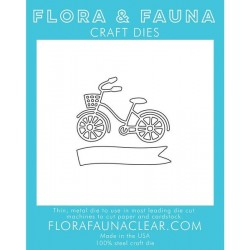 Fustella Flora & Fauna Craft Dies - Mini Bike