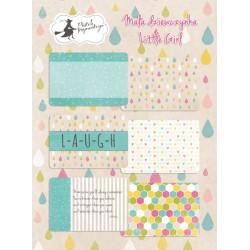 "PIATEK13 - Little Girl - Set of journaling cards 6x4"""
