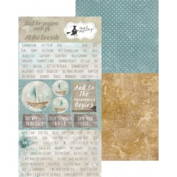 PIATEK13 - At the Seaside  - Paper with elements