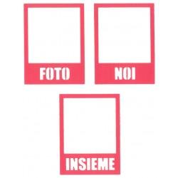 Fustella Impronte D'Autore - Polaroid