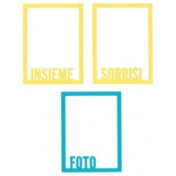 Fustella Impronte D'Autore - Photo frame