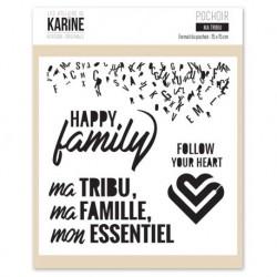 Stencil Les Ateliers de Karine - Ma tribu