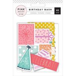 Die Cuts - Pink Paislee - BIRTHDAY BASH EPHEMERA