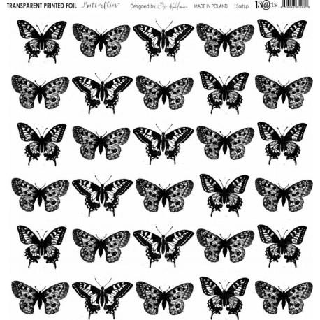 """Foglio Acetato 13@rts - """"Butterflies"""""""