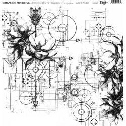 "Foglio Acetato 13@rts - ""Steampunk flowers"""