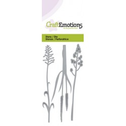 Fustella Craft Emotions - Flowering Grass