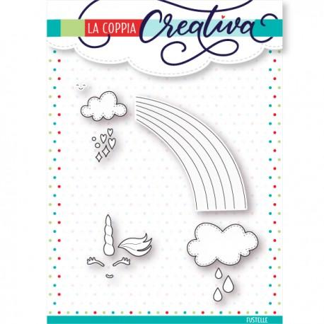 Fustella La Coppia Creativa - Cuori D'acquerello