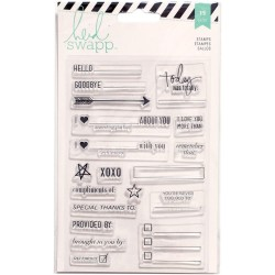 Timbri Clear Heidi Swapp - Pocket Page Planner
