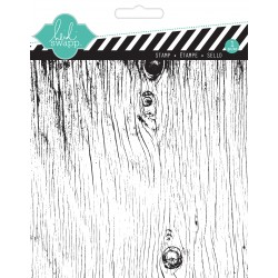 Timbri Clear Heidi Swapp - Background Stamp - Wood