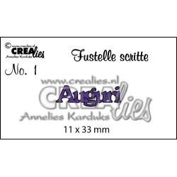 Fustella CreaLies - Auguri