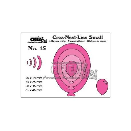 Fustella CreaLies - Balloons oval