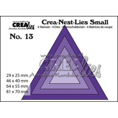 Fustella CreaLies - Triangles