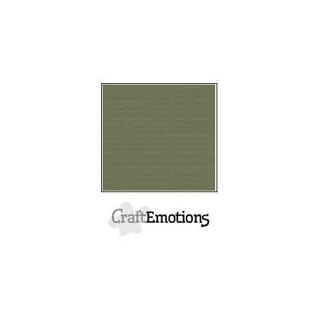 Cartoncino CraftEmotions - Army Green