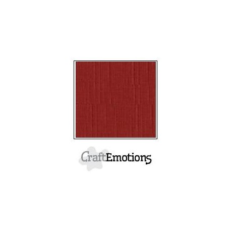 Cartoncino CraftEmotions - Dark Red