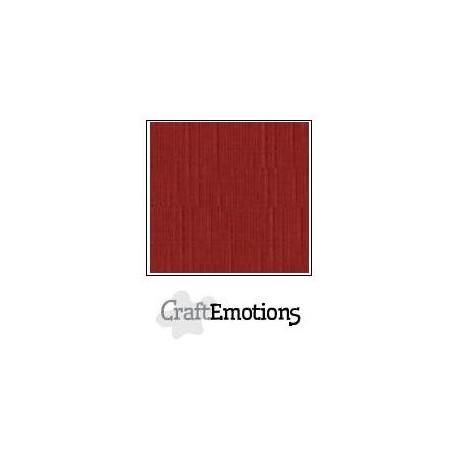 Cartoncino CraftEmotions - Dark Red