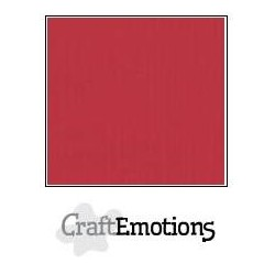 Cartoncino CraftEmotions - Cherry Red