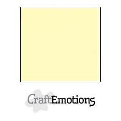 Cartoncino CraftEmotions - Light Yellow
