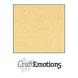 Cartoncino CraftEmotions - Honey (kraft)
