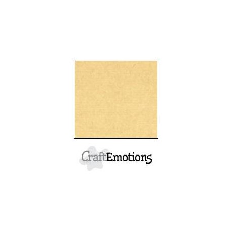 Cartoncino CraftEmotions - Honey (kraft)
