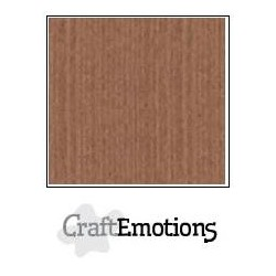 Cartoncino CraftEmotions - Terra Brown