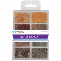 Perline - Craft Medley Glass Bead Kit - Nuggets