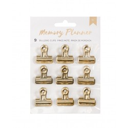 Clips in metallo oro - American CRafts