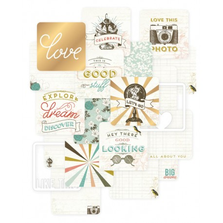 Kit 12 carte - Becky Higgins- Adventure Edition Collection - Instagram