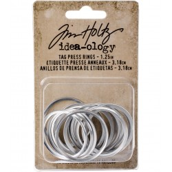 Tim Holtz - Idea-ology Collection -  Tag Press RINGS  - misura 1,25""
