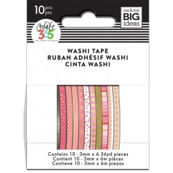 Washi Tape - Me & My Big Ideas - Pink Hues Skinny