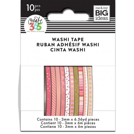 Washi Tape - Me & My Big Ideas - Pink Hues Skinny