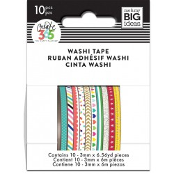 Washi Tape - Me & My Big Ideas - Brights Skinny