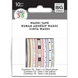 Washi Tape - Me & My Big Ideas - Pastel Skinny