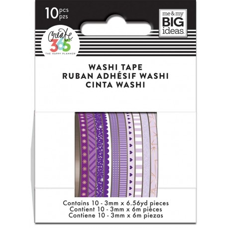 Washi Tape - Me & My Big Ideas - Purple Hues Skinny