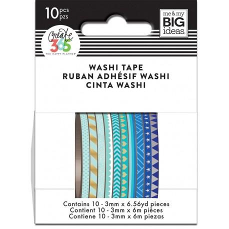 Washi Tape - Me & My Big Ideas - Blue Hues Skinny