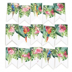 PIATEK13 - Let's flamingle - Paper die cut garland