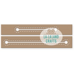 Fustella La-La Land Crafts - Stitched Slots Die