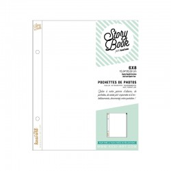 Page Protector con zip - KESI'ART (6X8 inches)